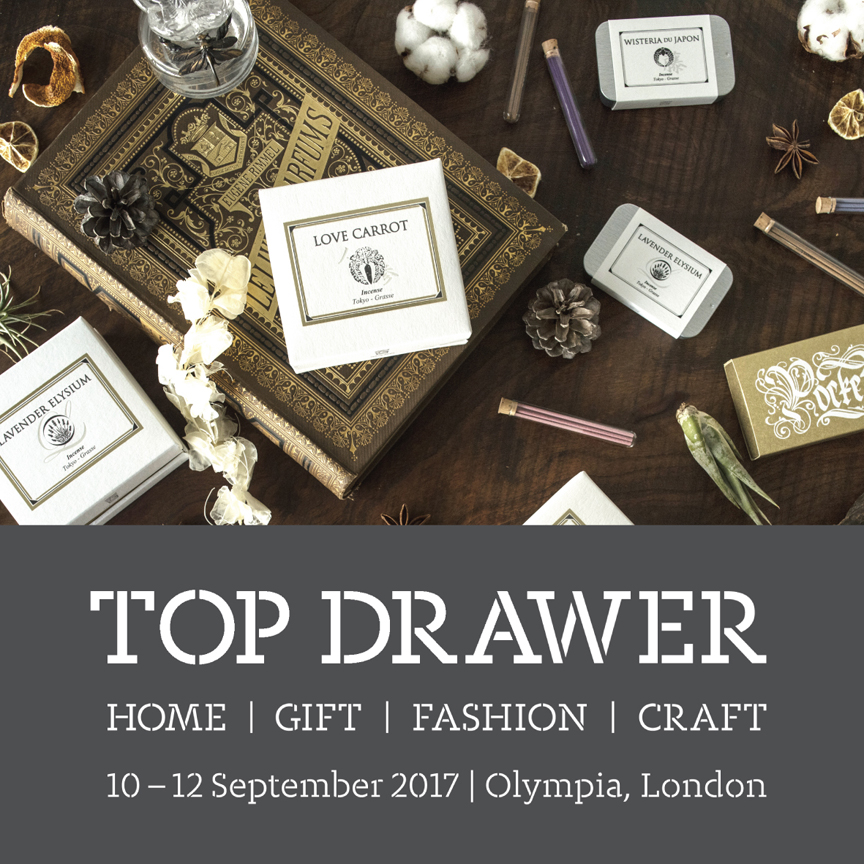 Attend Top Drawer exhibition!