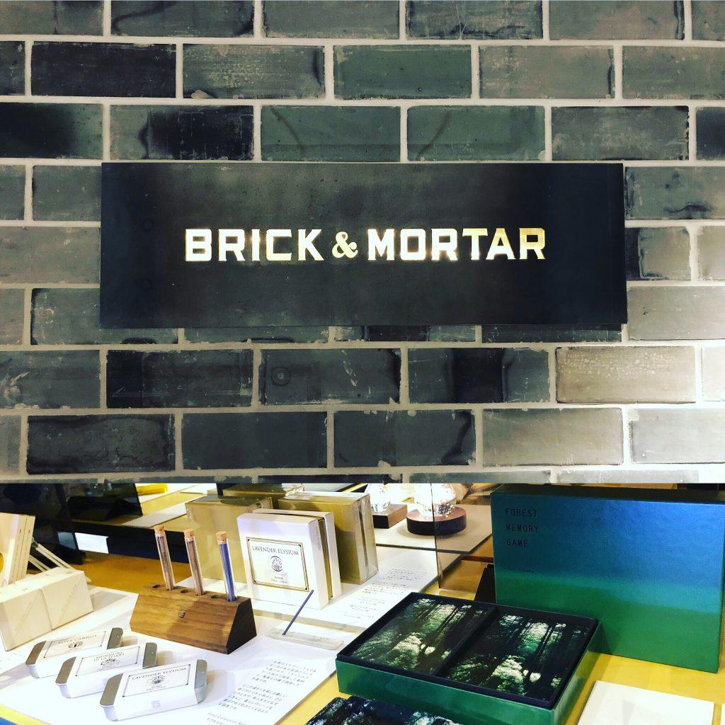 BRICK & MORTAR in 日本橋高島屋S.C.新館